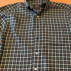 Men's flannel button down